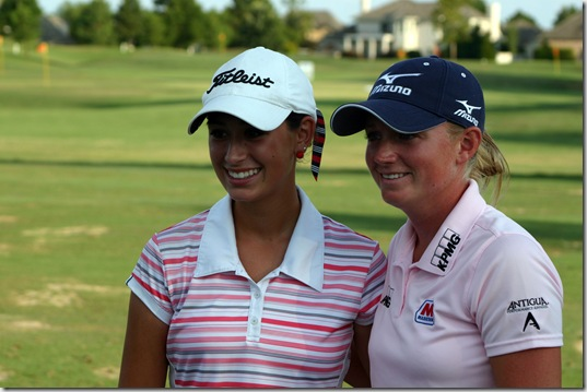 Cheyenne Knight Stacy Lewis