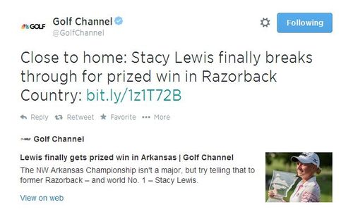 Stacy Lewis tweet 2