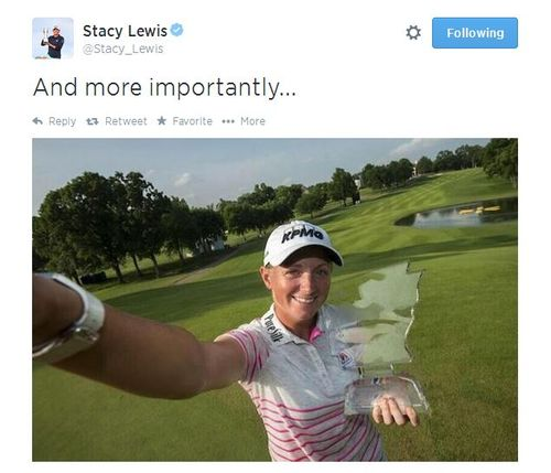 Stacy Lewis tweet 1