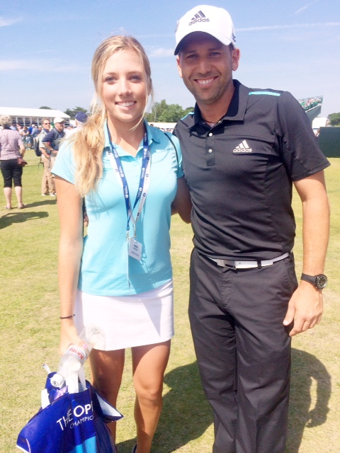 Sierra Brooks and Sergio Garcia
