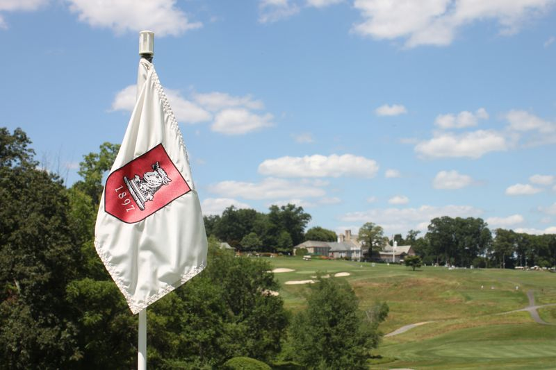 Flag with Clubhouse