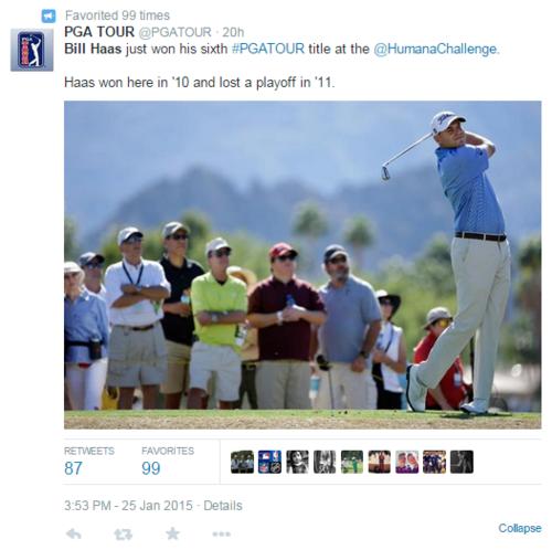 Bill Haas PGA tweet snip