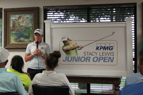 Q&A session with Stacy Lewis