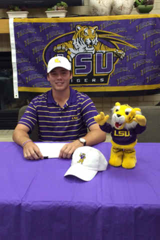 Sam Burns, LSU