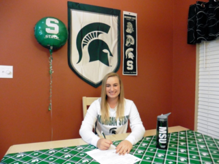 Logan Otter, Michigan State